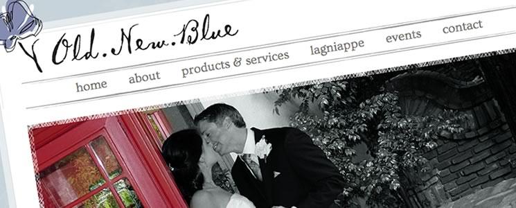 Web Design : Old New Blue